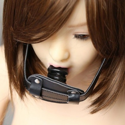 MIZZZEE SM Dildo Gag S Size Slave Harness Silicone Ball Gag SM Bondages Fetish Mouth Restraints SM Sex Toy For Couples Toys Alat Seks SM