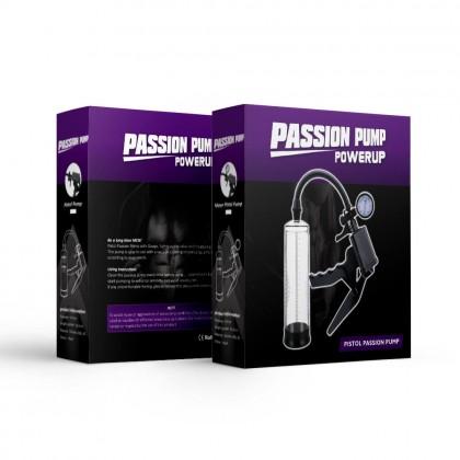 Pistol-Grip Air Vacuum Pump With Pressure Gauge Men's Power Penis Pump Vacuum Train Male Sex Penis Pump Enlarger Enlargement Bigger Longer Sex Toys for Men