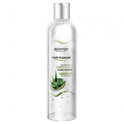 MIZZZEE - Big Capacity Aloe Lubricant 300ml Original Water Based Vagina Lubricant Gel Sex Oral Body Massage Oil Masturbation Lubricant For Couples Oil Minyak Pelincir