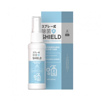 EasyLive - SHIELD Adult Toy Anti-Bacterial Sterilization 60ML Cleaner Lubricant Body Cleaning Spray For Vagina And Penis Antibacterial Lubricant Spray For Clean Sex Toys