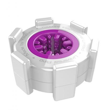 YouCups Universal Ring Purple - Internal Spikes Masturbator For Men Masturbation Cup Adult Sex Toy For Men Silicone Vagina Alat Seks Lelaki