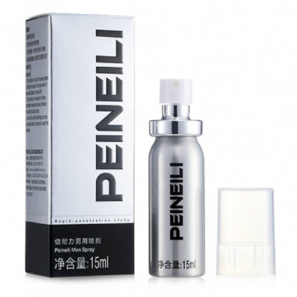 P-eineili Men Delay Spray 2nd Edition 15ML Original Male Delay Spray Delay Lasting External Use Anti Premature Ejaculation Prolong 60 Minutes Adult Toy For Men Alat Seks Lelaki (Semburan Tahan Lama)