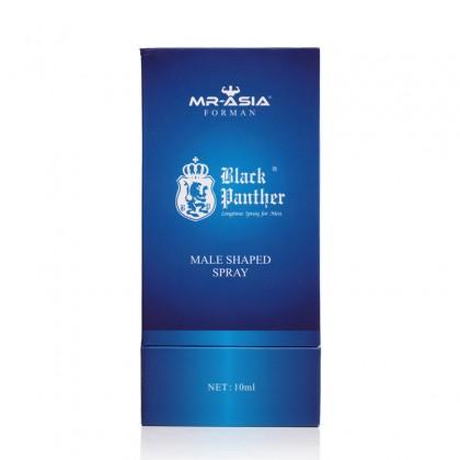 Black Panther - Men Delay Spray 10ml Original Male Delay Spray Delay Lasting External Use Anti Premature Ejaculation Prolong 60 Minutes Adult Toy For Men Alat Seks Lelaki (Semburan Tahan Lama)