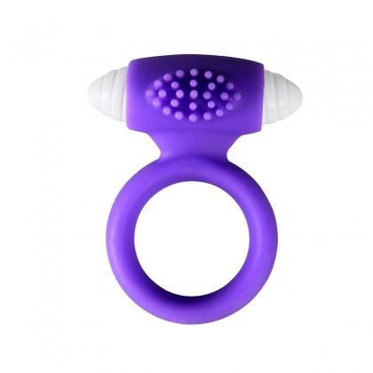 PLEASE ME Male Vibrating Delay Ring Purple Colour Male Delay Rings Ejaculation C0CK Ring Penis Vibrating Ring Massager Dildo Vibrator Sex Toy For Men Alat Seks Lelaki (Semburan Tahan Lama)